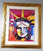 Delta Unique 2004 42x36 Huge Works on Paper (not prints) by Peter Max - 1