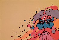 Knowledge Bliss Absolute 1972 (Vintage) Limited Edition Print by Peter Max - 2