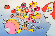 Psychedelic Vintage Suite of 4 AP, 1975  Limited Edition Print by Peter Max - 2