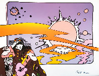 Psychedelic Vintage Suite of 4 AP, 1975  Limited Edition Print by Peter Max - 3