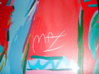 Les Mondrian Ladies 1988 Huge Limited Edition Print by Peter Max - 2