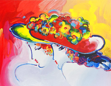 Friends 2014 Limited Edition Print - Peter Max