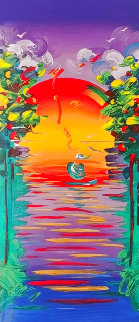 Better World 2012 Limited Edition Print - Peter Max