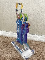 Statue of Liberty Acrylic Sculpture Unique 12 in  Sculpture by Peter Max - 2
