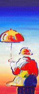 Umbrella Man, Version VII 2012 Limited Edition Print - Peter Max