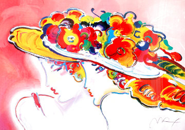 Friends 2001 Limited Edition Print - Peter Max