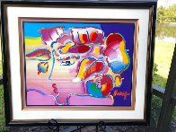 Profile Series No. 7 Unique 2001 33x39 Works on Paper (not prints) by Peter Max - 1