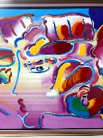 Profile Series No. 7 Unique 2001 33x39 Works on Paper (not prints) by Peter Max - 2