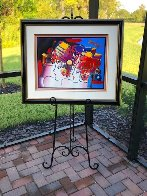 Mondrian Ladies Unique 1999 29x36 Works on Paper (not prints) by Peter Max - 3