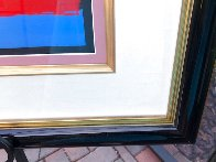 Mondrian Ladies Unique 1999 29x36 Works on Paper (not prints) by Peter Max - 5