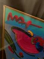 Flowers Unique 2002 36x31 Works on Paper (not prints) by Peter Max - 3