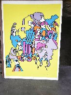 Past Incarnations 22x30 in 1971 Vintage Limited Edition Print by Peter Max - 1