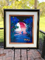 Rainforest Foundation Unique  1998 36x31 Works on Paper (not prints) by Peter Max - 2