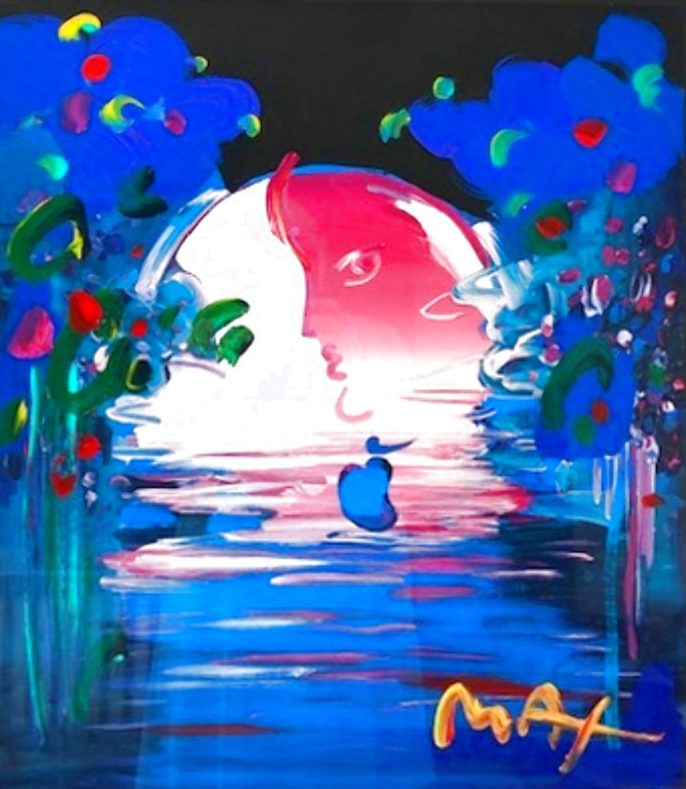 Rainforest Foundation Unique  1998 36x31 Works on Paper (not prints) by Peter Max