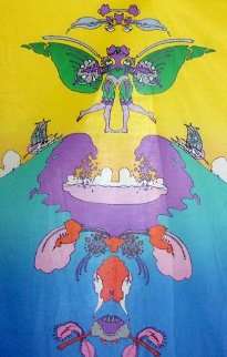 Facing Waves (Gemini) (early work 1973) AP Limited Edition Print by Peter Max