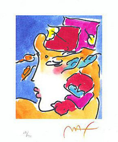 Profile Series I Limited Edition Print by Peter Max