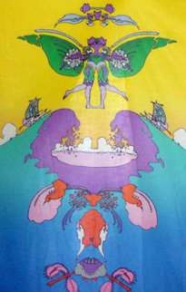 Facing Waves (early work 1973) Limited Edition Print by Peter Max