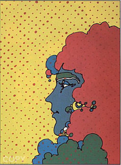 Polka Dots 1971 Limited Edition Print - Peter Max