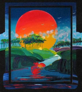 Without Borders 1991 Limited Edition Print by Peter Max