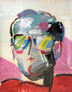 Neo Man 1988 Limited Edition Print - Peter Max