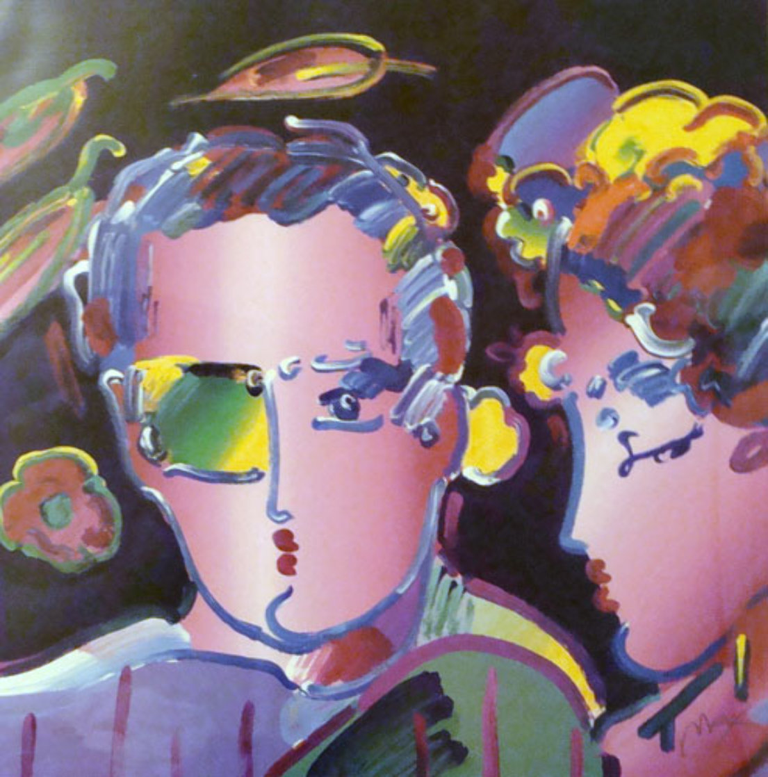 Zero in Love II 2007 Limited Edition Print by Peter Max
