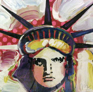 Liberty III Limited Edition Print - Peter Max