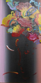 Roseville Profile Detail Ver.III #22 12x6 Original Painting by Peter Max