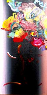 Roseville Profile Detail Ver. III #22 2007 24x18 Original Painting - Peter Max