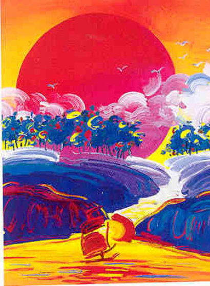 Without Borders II 2002 Limited Edition Print by Peter Max
