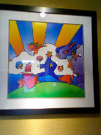 Cosmic Runner Limited Edition Print by Peter Max - 3