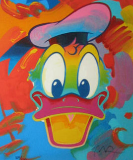 Donald Duck 1996 Limited Edition Print by Peter Max