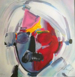 Andy with Moustache 1997 Limited Edition Print by Peter Max
