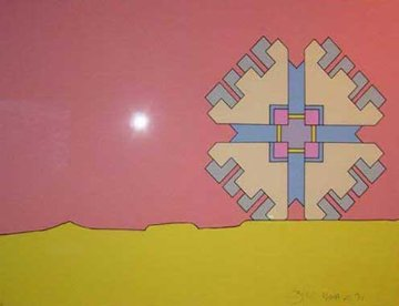 Horizon Enigma (early) 1971 Limited Edition Print by Peter Max