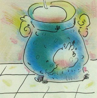 Melting Pot (early work 1980) Limited Edition Print - Peter Max