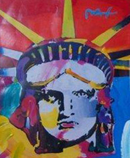 Delta 2000 44x38 Works on Paper (not prints) by Peter Max
