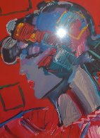 Crimson Lady 1987 Limited Edition Print by Peter Max - 1