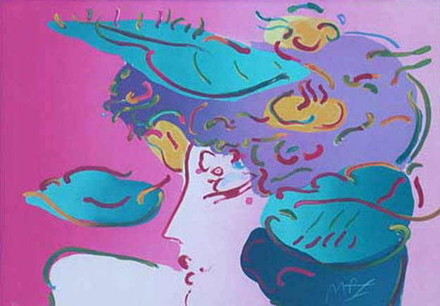 Flower Spectrum 1990 Limited Edition Print by Peter Max