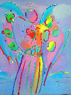 Angel With Heart PP 1990 Limited Edition Print by Peter Max - 0
