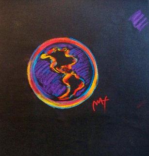 Summit of the Americas Unique 1994 9x8 Works on Paper (not prints) by Peter Max