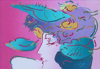 Flower Spectrum 1990 Limited Edition Print by Peter Max - 0