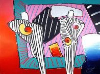 Time Line Dega Man 1990 Limited Edition Print by Peter Max - 0
