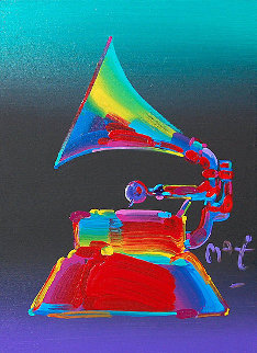 Grammy 89 Limited Edition Print by Peter Max