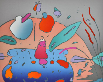 Marilyn's Flowers I (early work 1979) Limited Edition Print by Peter Max