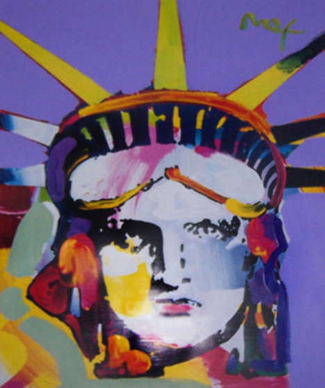 Peter Max Delta 2002 Unique 44x48 Works on Paper (not prints) by Peter Max