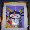 Peter Max Delta 2002 Unique 44x48 Works on Paper (not prints) by Peter Max - 1