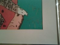Across the Room 1983 Limited Edition Print by Peter Max - 2