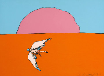 Going Home (early) 1971 Limited Edition Print by Peter Max