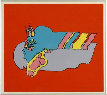 Remembering the Flight 1972 Limited Edition Print by Peter Max