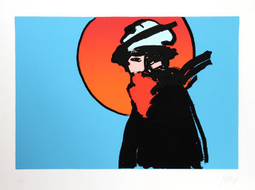 Poet Limited Edition Print by Peter Max