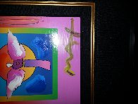 Angel With Sun on Blends 2006 26x24 Works on Paper (not prints) by Peter Max - 3